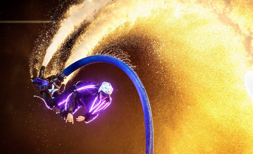 Moreton Bay's Very First Jet Pack Laser Show Is Happening on New Year's Eve